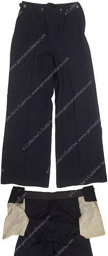 Kriegsmarine NCO Peacoat and Pants