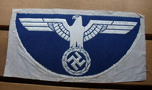 Wehrmacht insignia for the sport suit