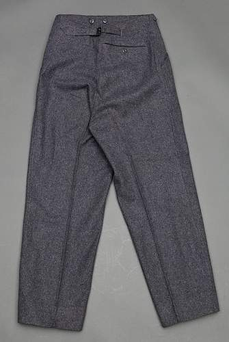 Luftwaffe service trousers