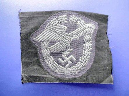 Luftwaffe cloth Observers badge