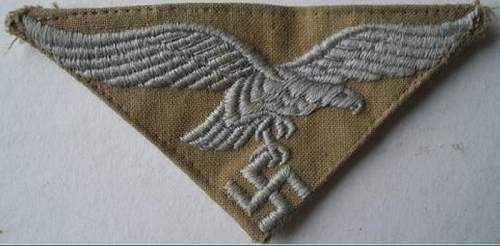Luftwaffe Tropical Breast Eagle