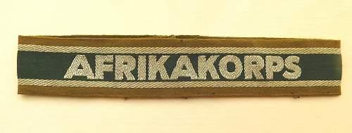 Click image for larger version.  Name:Afrikakorps cuff.obv.jpg Views:7 Size:237.9 KB ID:1071353
