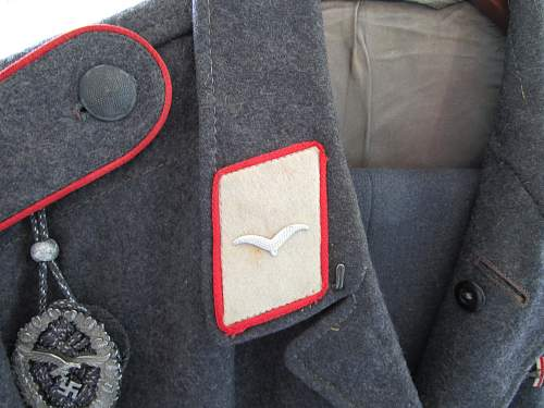 "Show your ""Hermann Goring"" Division insignia"