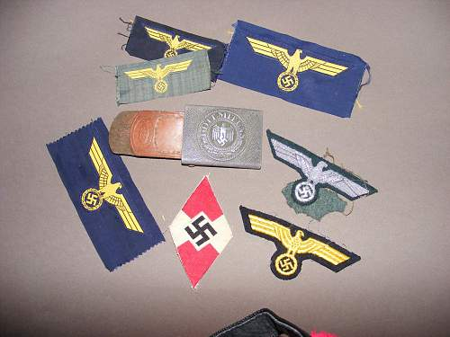 Patches and Insignia with buckle
