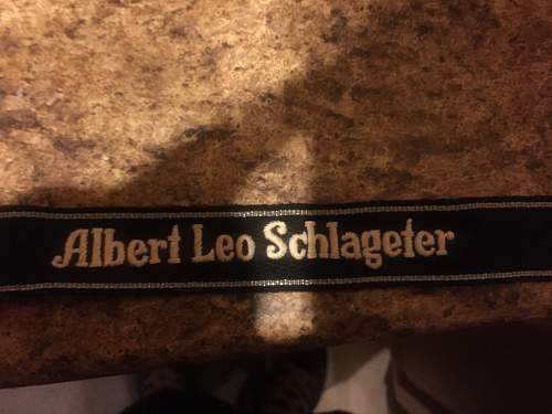 Info about Schlageter cuff title requested