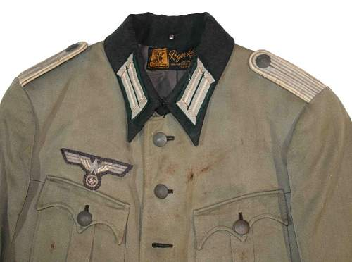 Sud Front Infantry Tunic