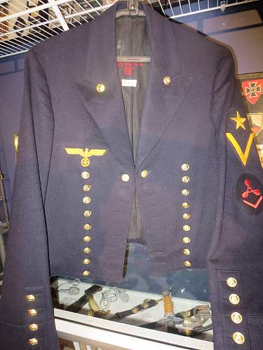 Kriegsmarine Parade Dress Jacket