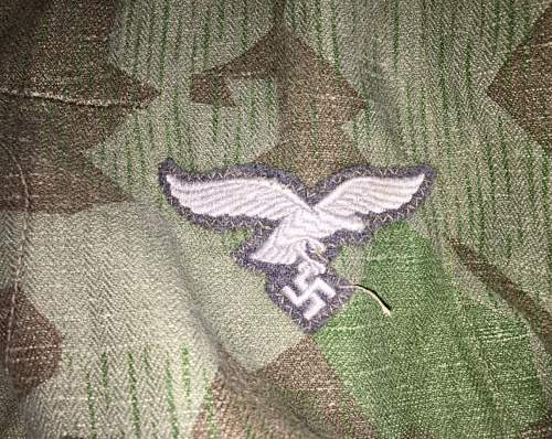 Luftwaffe Tunic Question