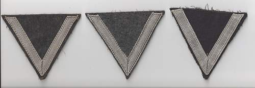 3 Gefreiter Rank Chevrons fro Review