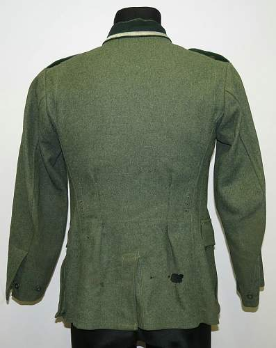 Wehrmacht Heer tunic of 99 GJR