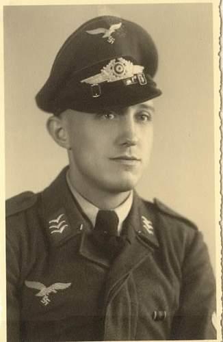 Luftwaffe tunics in period photos