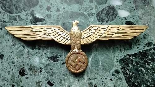 Kriegsmarine eagles