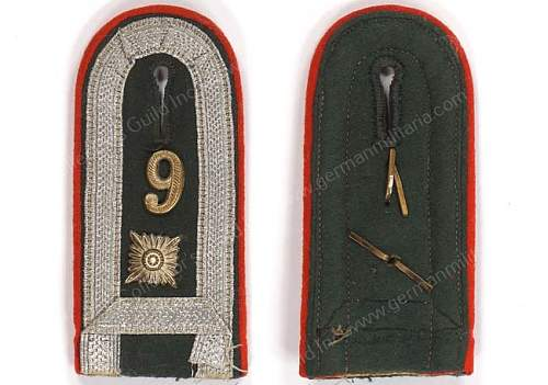 Help to ID shoulder board