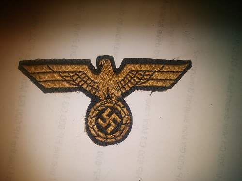 ID of Eagle patch