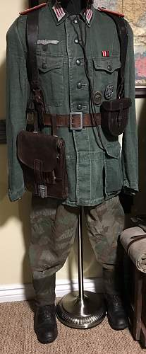 HBT Artillery Oberleutnant tunic - new addition