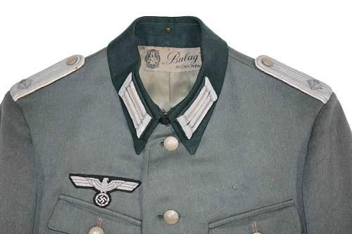 Heer Infantry Oberleutnant's Tunic