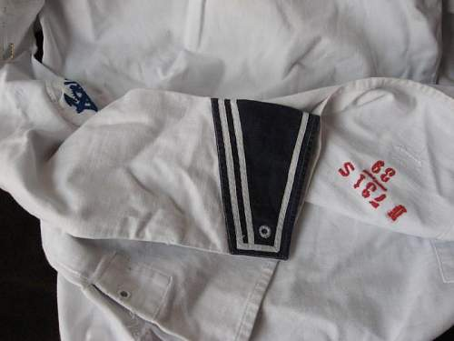 What say you about this Kriegsmarine White Shirt ?