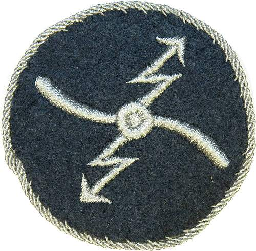 Strange Luftwaffe or DLV trade patch help