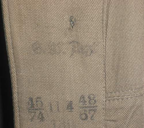 Need help Identifying Officer Tunic Markings