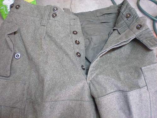 information on these trouser