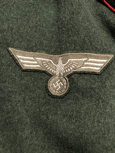 64th Artillery Regiment Waffenrock