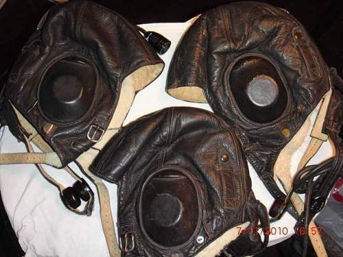 German Aviator Helmets