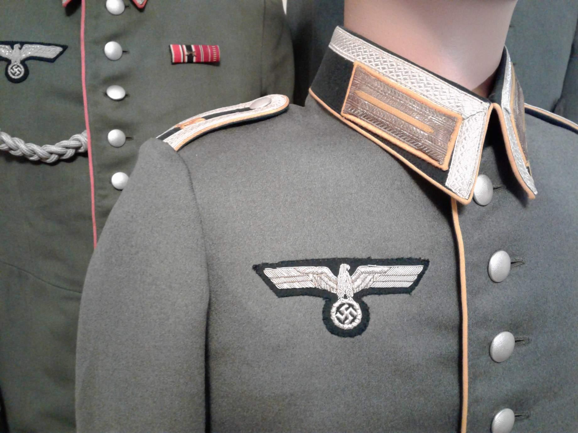 Kavallerie Regiment 18 Waffenrock