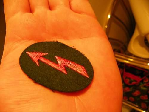 Panzer pink badge help