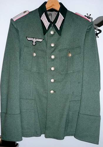 Heer Artillery Tunic for review