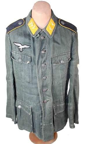Luftwaffe HBT Tunic
