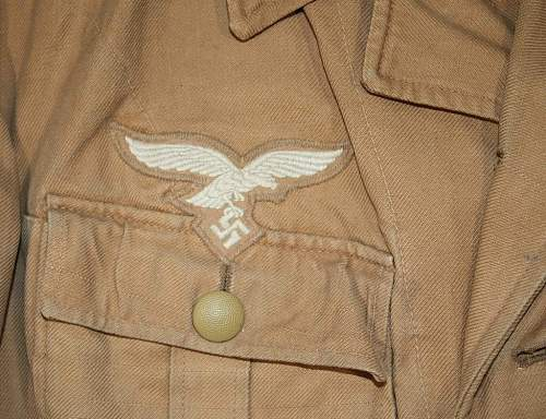 Luftwaffe Tropical Tunic
