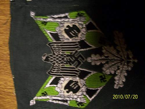Need Help on cloth insignia