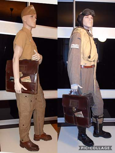 Luftwaffe flying crew members for review