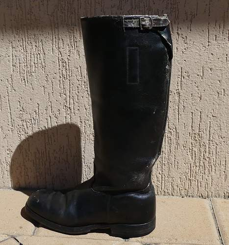 Wanting infomation on my boot purchase