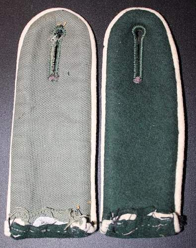 My Shoulder Board Collection thus far...