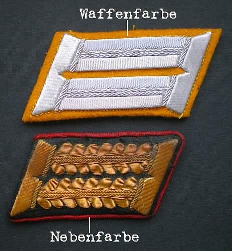 Collar patch terminology