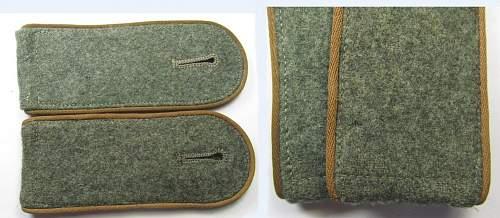 Some Heer shoulderstraps - Bau, Panzerjager & Supply