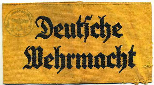 Deutsche Wehrmacht armband