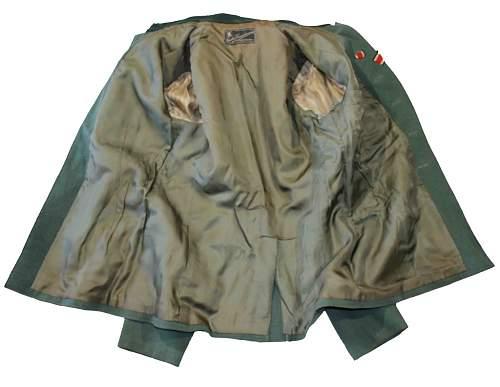 Heer Artillery Lieutenant's Uniform