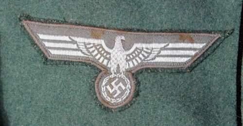 Heer M35 NCO's Waffenrock