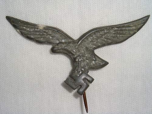 Luftwaffe Lapel Pin: Opinions Please
