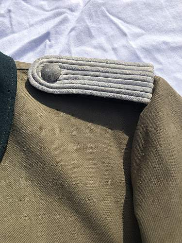 Heer Pioneer Leutnant's Summer Tunic