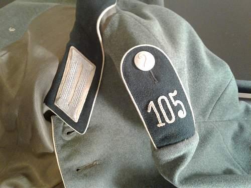 Heer Infantry Parade Tunics
