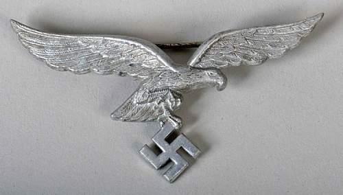 Luftwaffe visor cap eagle authentic or fake?