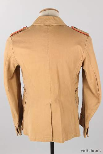Two Luftwaffe Tunics for Review