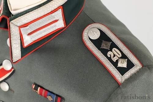 Heer Artillery Uniform Grouping