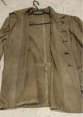 Afrikakorps Field Jacket Authenticity?