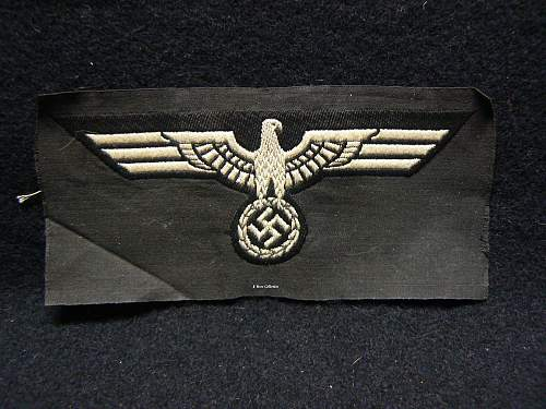 Early Panzer Breast Eagle