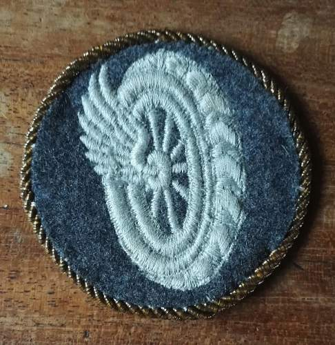 Luftwaffe specialist  and trade insignia