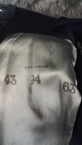 Kriegsmarine pea jacket